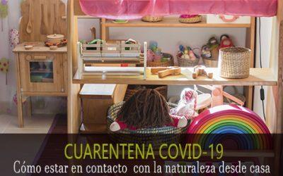 Cuarentena COVID-19: Cómo estar en contacto con la naturaleza desde casa